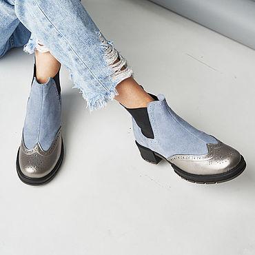 Обувь ручной работы. Ярмарка Мастеров - ручная работа Челси Anna Chaqrua. Handmade.