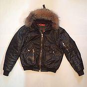 Одежда ручной работы. Ярмарка Мастеров - ручная работа Куртка кожаная мужская. Handmade.