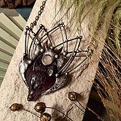 Украшения handmade. Livemaster - original item Wolf Rain Pendant (p-068-01). Handmade.