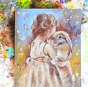 Картины и панно ручной работы. Ярмарка Мастеров - ручная работа Нежный полдень - картина пастелью. Handmade.