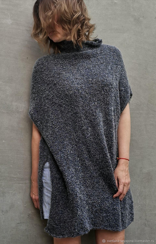 Soft luxury mohair vest long, Vests, Krymsk,  Фото №1