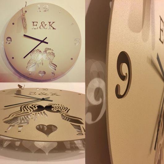 Подарочные наборы ручной работы. Ярмарка Мастеров - ручная работа. Купить Часы по индивидуальному заказу. Handmade. Настенные часы