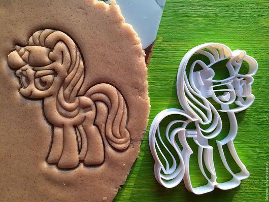 Кухня ручной работы. Ярмарка Мастеров - ручная работа. Купить Формы для печенья Мой маленький пони. Handmade. Разноцветный, печенье
