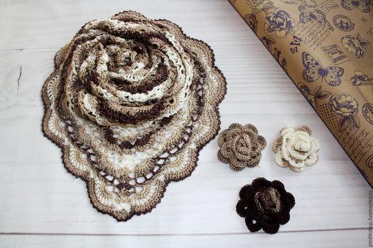 Шали, палантины ручной работы. Ярмарка Мастеров - ручная работа. Купить бактус платок шарф мини-шаль косынка. Handmade.