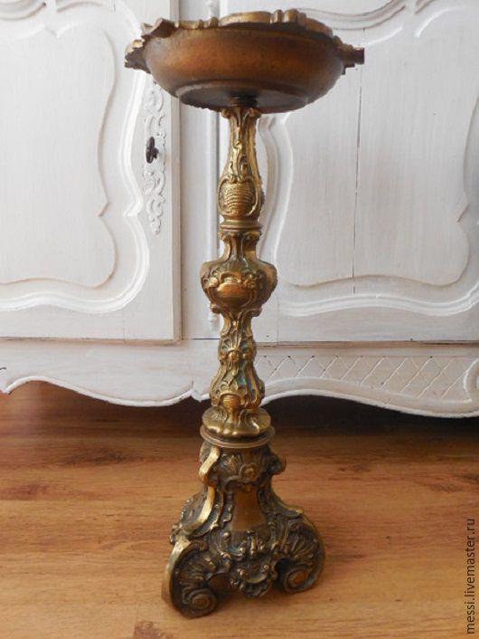 Винтажные предметы интерьера. Ярмарка Мастеров - ручная работа. Купить Винтажная напольная пепельница  латунь, 6,3 кг. Handmade.