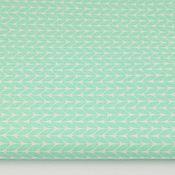 Ткани ручной работы. Ярмарка Мастеров - ручная работа 100% хлопок, Польша 2, вязанка мятная. Handmade.