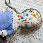 Куклы и игрушки ручной работы. Ярмарка Мастеров - ручная работа Обережная кукла примитив Весна. Handmade.