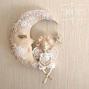 Элементы интерьера ручной работы. Ярмарка Мастеров - ручная работа Ангел на луне. Handmade.