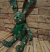 Мягкие игрушки ручной работы. Ярмарка Мастеров - ручная работа Зайка Дуняша. Handmade.