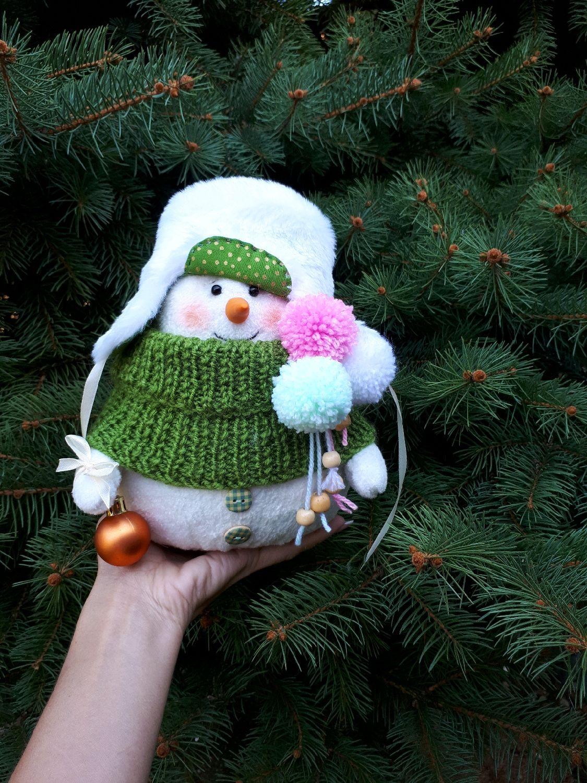 Снеговик, Мягкие игрушки, Изобильный,  Фото №1
