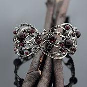 Украшения handmade. Livemaster - original item Copy of Copy of Copy of Silver bracelet, silver handcrafted decoration. Handmade.