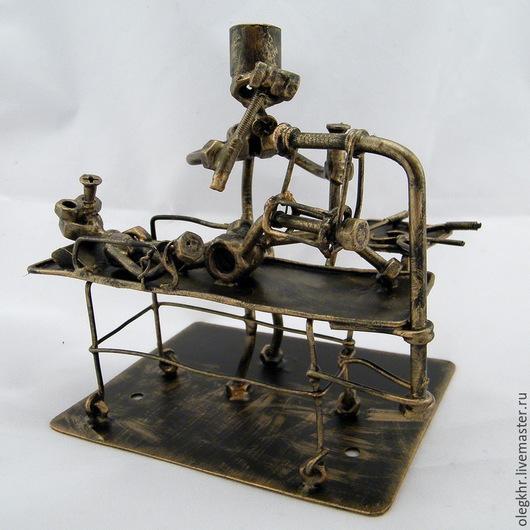 Миниатюрные модели ручной работы. Ярмарка Мастеров - ручная работа. Купить Травматолог-ортопед №2. Handmade. Скульптурная миниатюра
