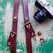 Аксессуары ручной работы. Ярмарка Мастеров - ручная работа разгрузка для фотографов из натуральной кожи. Handmade.