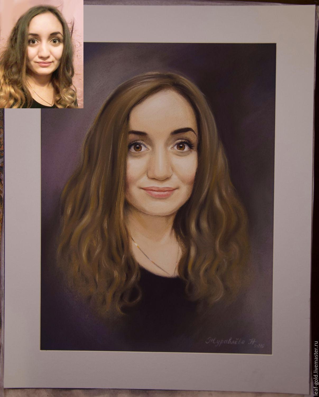 закажу портрет по фото пастелью в украине узнал