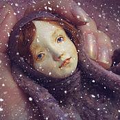 Куклы и игрушки ручной работы. Ярмарка Мастеров - ручная работа Тедди-доллочка Зайка в лиловом. Handmade.