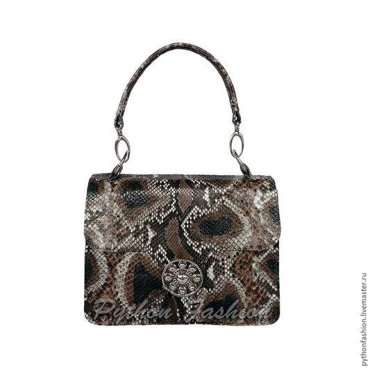 Сумочка из кожи питона. Небольшая сумочка из кожи питона. Вечерняя сумочка из питона. Женская сумочка из питона на заказ. Вечерняя сумочка из кожи питона. Авторская сумочка ручной работы из кожи змеи.