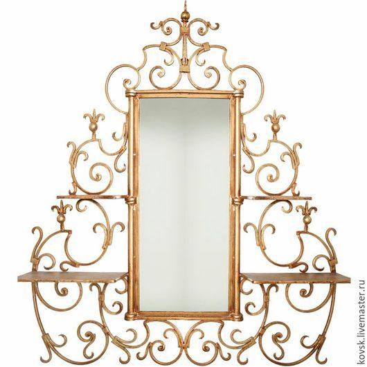 Зеркала ручной работы. Ярмарка Мастеров - ручная работа. Купить Зеркало кованое. Handmade. Зеркало ручной работы, металл, зеркало