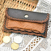 Сумки и аксессуары handmade. Livemaster - original item Purse for coins, cards, memory cards.. Handmade.