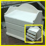 Материалы для творчества handmade. Livemaster - original item Chest of drawers, storage 074. Handmade.