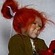 """Коллекционные куклы ручной работы. """"Это не я"""". Наталья Фролова. Ярмарка Мастеров. Мохер, мохер"""