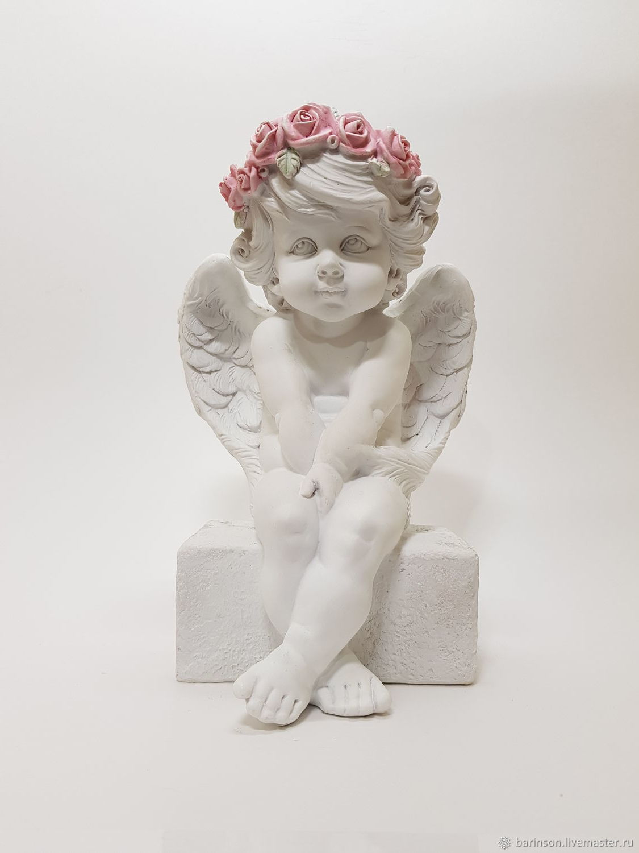 Ангел на камне статуэтка, Статуэтки, Ульяновск,  Фото №1