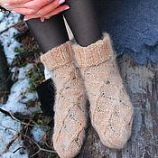 Аксессуары handmade. Livemaster - original item Down socks