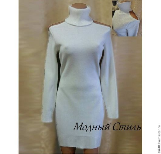 """Платья ручной работы. Ярмарка Мастеров - ручная работа. Купить Платье """"Лилу"""". Handmade. Белый, платье на заказ, платье из трикотажа"""