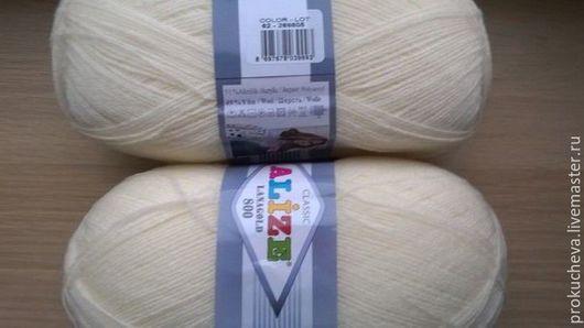 Вязание ручной работы. Ярмарка Мастеров - ручная работа. Купить Пряжа Alize Lanagold 800. Handmade. Комбинированный, пряжа в мотках