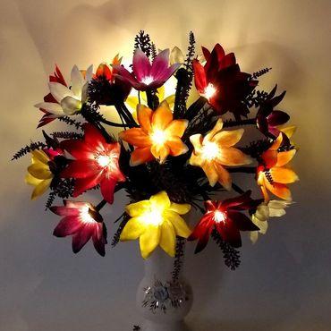 """Для дома и интерьера ручной работы. Ярмарка Мастеров - ручная работа Букет-светильник """"Космея"""". Handmade."""