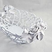 Посуда handmade. Livemaster - original item Delicate handmade Rose Renaissance. Handmade.