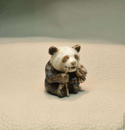"""Обереги, талисманы, амулеты ручной работы. Ярмарка Мастеров - ручная работа. Купить """"Панда"""". Handmade. Оригинальный подарок, панда игрушка"""