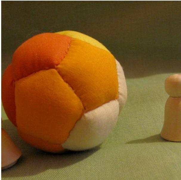Мячик тряпичный