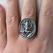 """Украшения ручной работы. Ярмарка Мастеров - ручная работа Кольцо """"Ганеша""""- серебро 925. Handmade."""