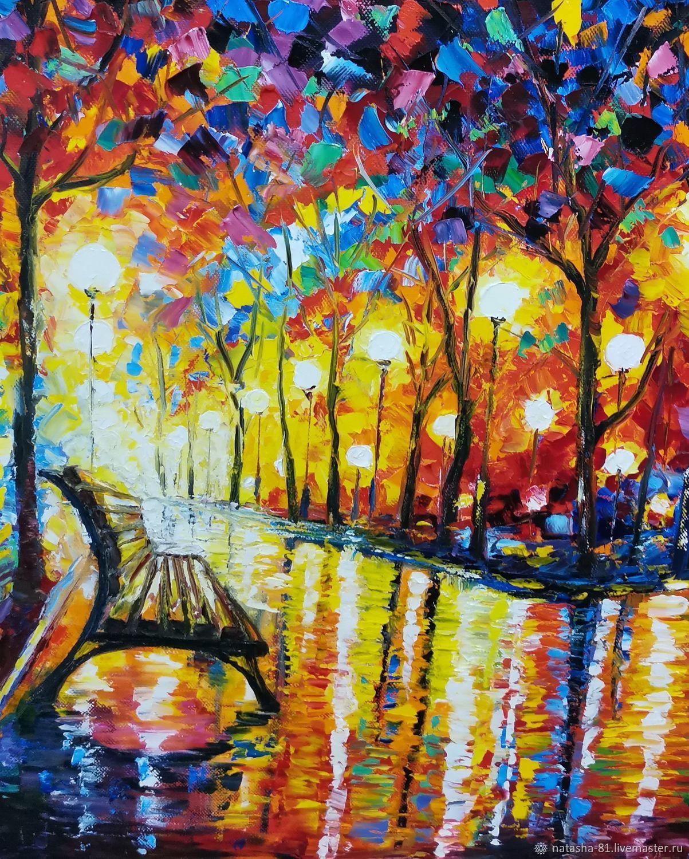 Осень в парке, Картины, Ухта,  Фото №1
