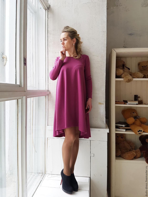 Платье свободное короткое фото
