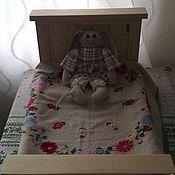 Для дома и интерьера ручной работы. Ярмарка Мастеров - ручная работа кроватка для кукол. Handmade.