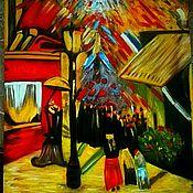 Картины и панно ручной работы. Ярмарка Мастеров - ручная работа 14 июля Ван Гог. Handmade.