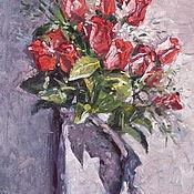 Картины и панно handmade. Livemaster - original item Bouquet. 32h19 cm. oil on canvas.. Handmade.