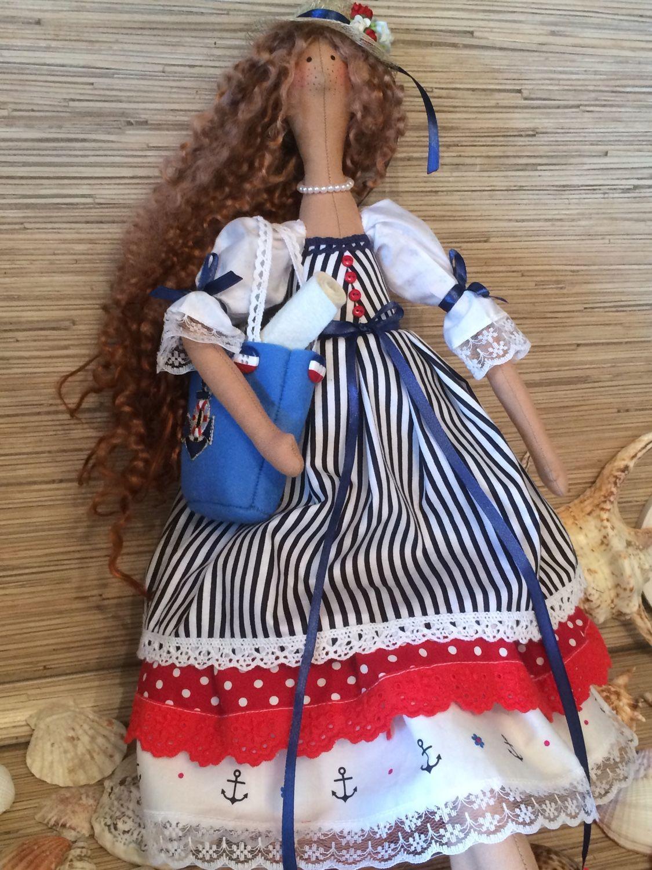 """Кукла-тильда """" Морская"""", Тильды, Мытищи, Фото №1"""