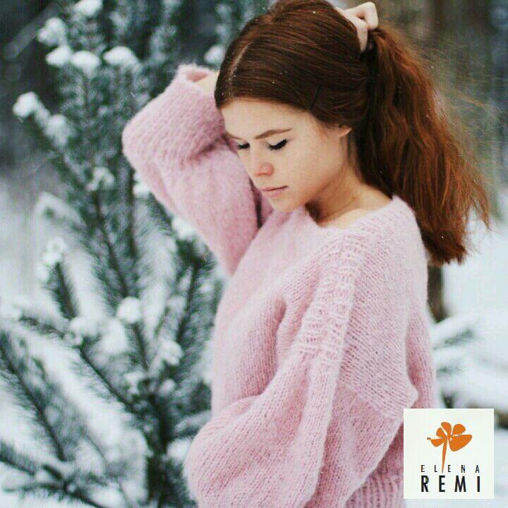 Женский свитер розовый,  кофта, джемпер, Джемперы, Москва,  Фото №1