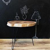 Столы ручной работы. Ярмарка Мастеров - ручная работа Кофеный столик из карагача. Handmade.