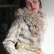 Одежда ручной работы. Ярмарка Мастеров - ручная работа Жакет зимний Оливия. Handmade.