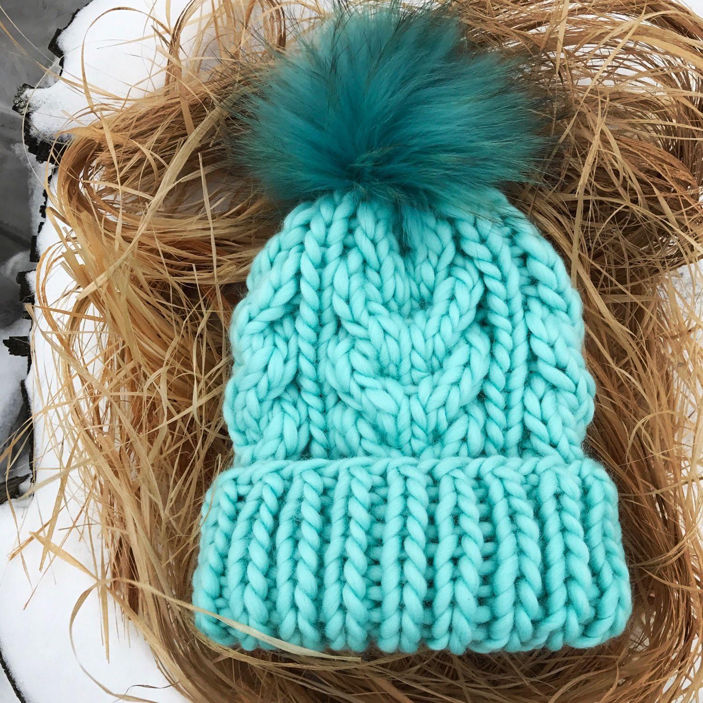 Пошаговое вязание шапки
