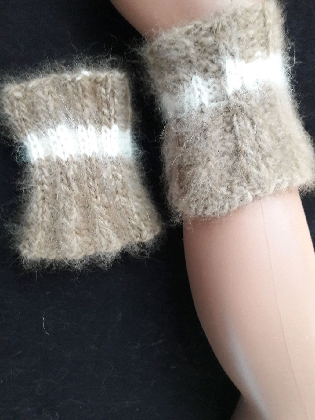 Wristlets made out of dog hair(fur), Mitts, Kursk,  Фото №1
