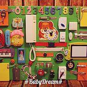 Куклы и игрушки ручной работы. Ярмарка Мастеров - ручная работа Бизиборд. Handmade.