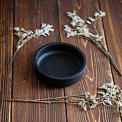 Посуда handmade. Livemaster - original item A saucer of toasted oak. Handmade.