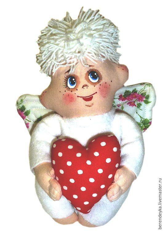 Народные куклы ручной работы. Ярмарка Мастеров - ручная работа. Купить Текстильная кукла Ангел. Славянская игрушка оберег.. Handmade.