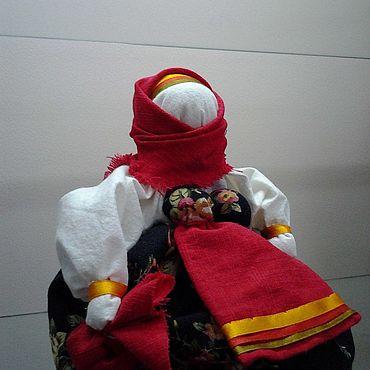 Куклы и игрушки ручной работы. Ярмарка Мастеров - ручная работа Куклы: Кукла-оберег - Подорожница. Handmade.