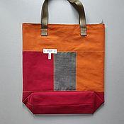 Сумки и аксессуары handmade. Livemaster - original item shopper: Combined ELEKTRA bag. Handmade.