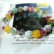 Украшения handmade. Livemaster - original item Rainbow agate bracelet
